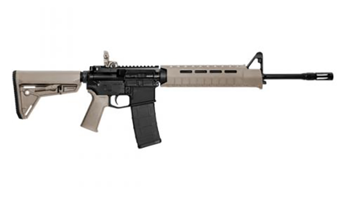 Smith & Wesson M&P15 MOE SL rifle FDE
