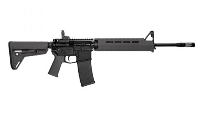 Smith & Wesson M&P15 MOE SL rifle grey