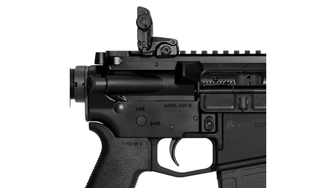 Smith & Wesson M&P15 MOE SL rifle rear sight