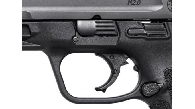 Smith & Wesson M&P45 M2.0 pistol trigger