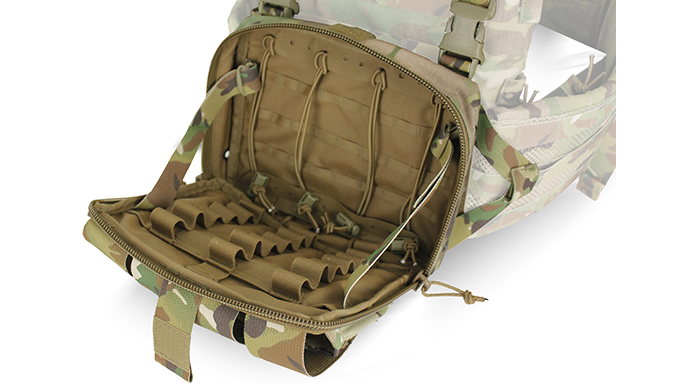 TYR Tactical's PICO-DS Medical Chest Rack open