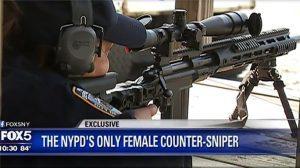 tina guerrero NYPD counter sniper