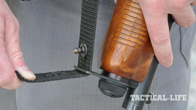 Witness Protection 870 shotgun sling hook