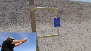 Kimber K6s Revolver trick shot