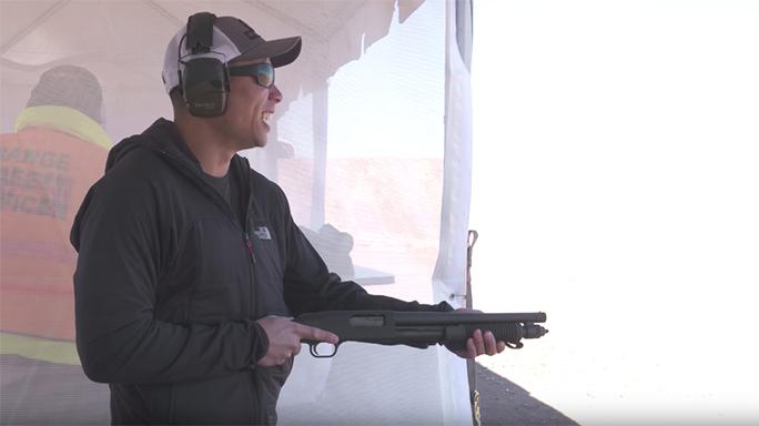 Mossberg 590 Shockwave shotgun range