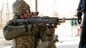 sig sauer xm17 pistol LSAT machine gun