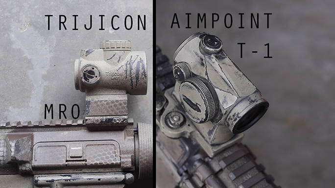 Ultimate Optic Battle Trijicon Mro Vs Aimpoint Micro T 1