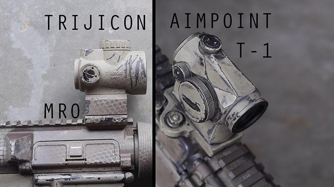Trijicon MRO vs. Aimpoint Micro T-1
