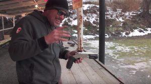 Rossi 12 Gauge Pistol shotgun video
