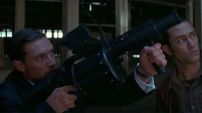 Tom Hardy guns Inception