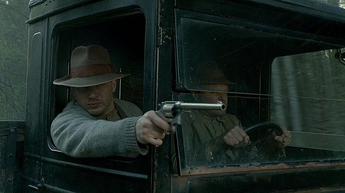 Tom Hardy guns Lawless