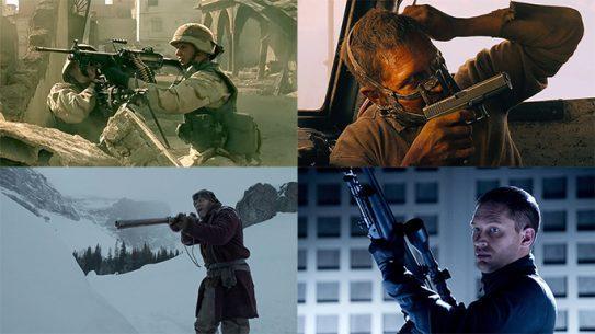 Tom Hardy guns