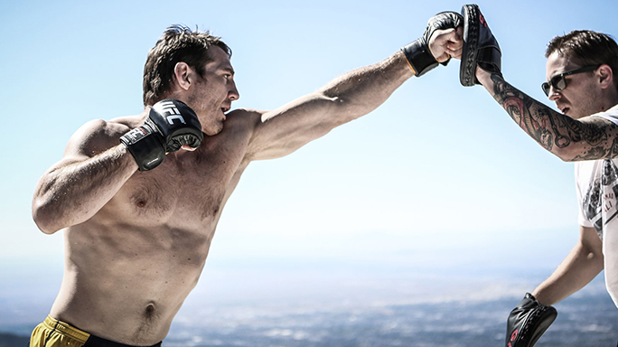 Tim Kennedy UFC Training