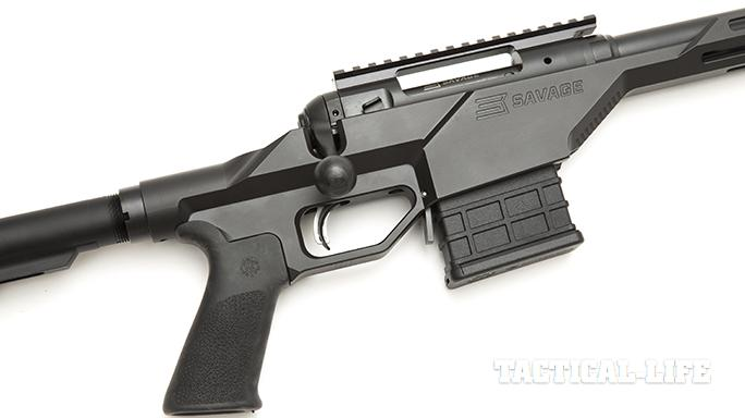 savage 10 BA Stealth magazine