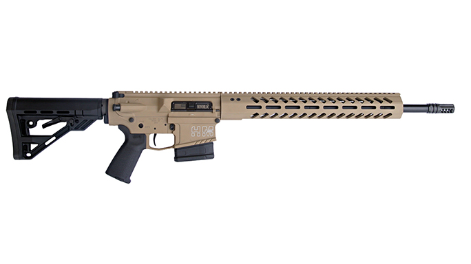 HM Defense Avenger M308 rifle fde