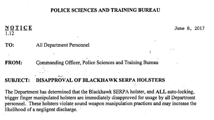 blackhawk serpa memo