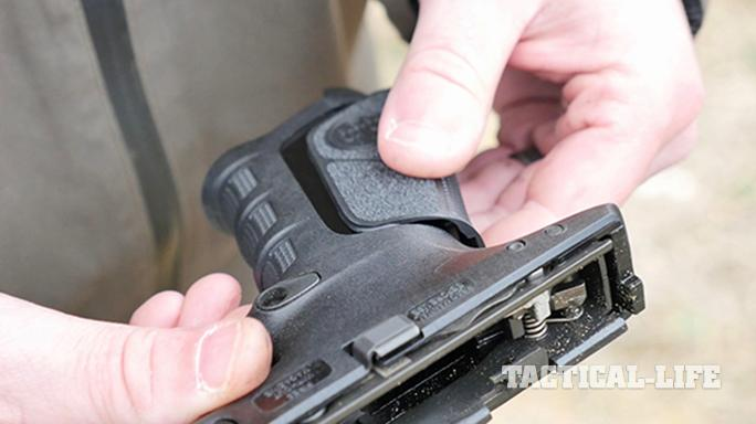 Beretta APX pistol grip