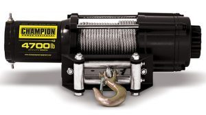 Champion 4,700-Pound Winch Kit winches