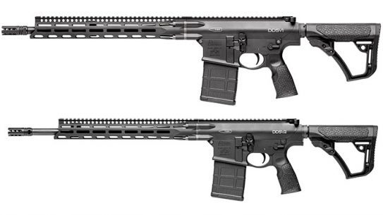 Daniel Defense DD5V1 DD5V2 rifles m-lok