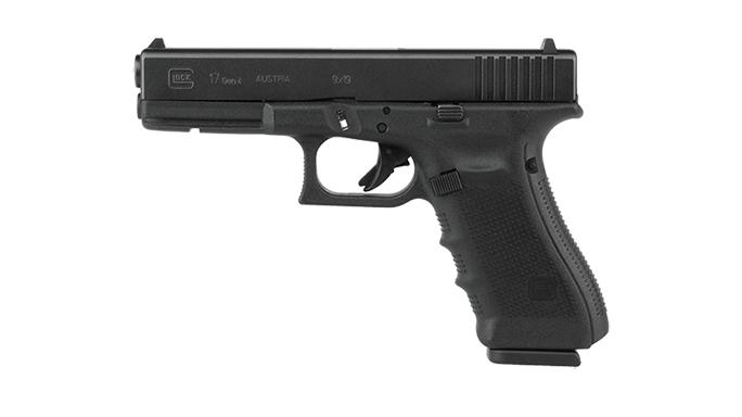 Glock 17 Gen4 left profile