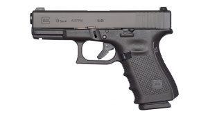 Glock Pistols left profile