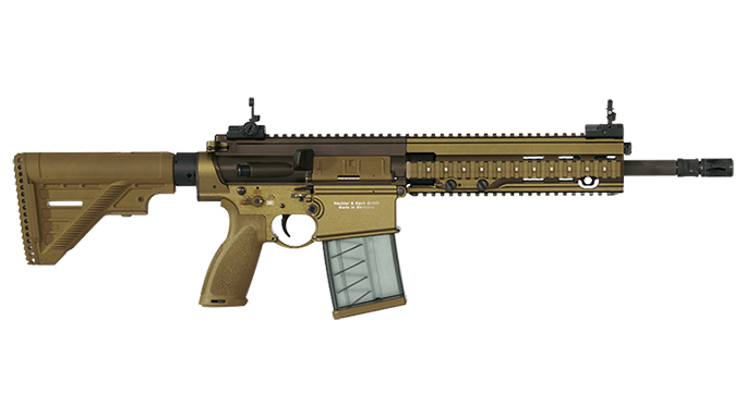 hk 417 U.S. Army Interim Combat Service Rifle