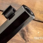 Henry 45-70 lever action rifle muzzle