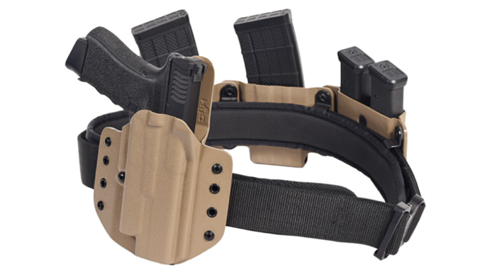 High Threat Concealment QRS rig