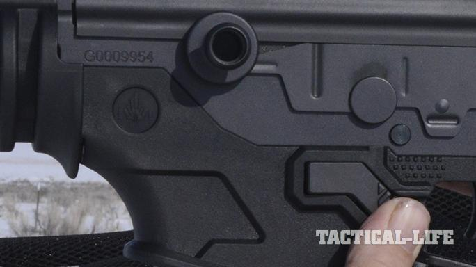 IWI Galil ACE 308 rifle safety