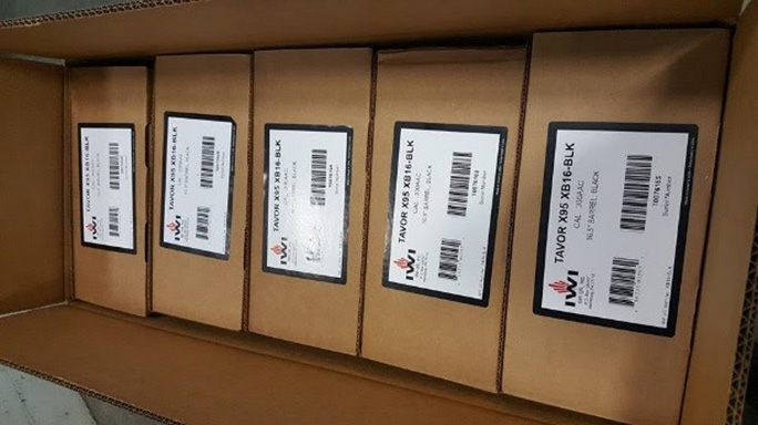 IWI Tavor X95 300 Blackout rifle shipment