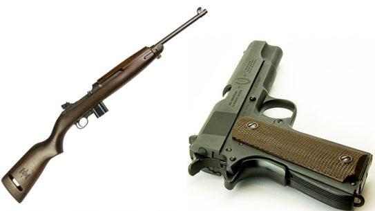 inland m1 carbine 1911a1 100th anniversary