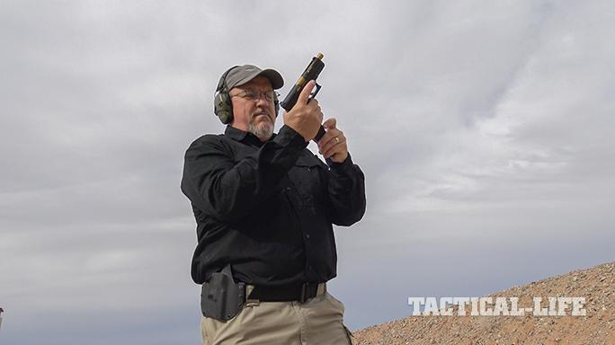 SSVi Mjölnir Glock 19 pistol range test