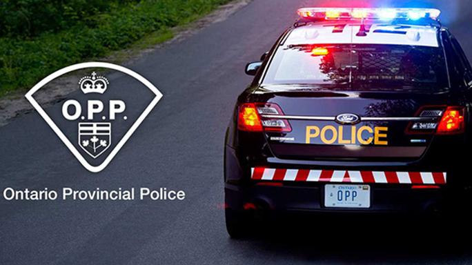 Ontario Provincial Police car