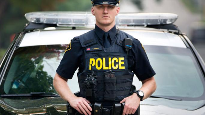 Ontario Provincial Police vest