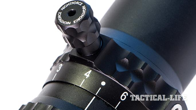 riflescope reticle target turrets
