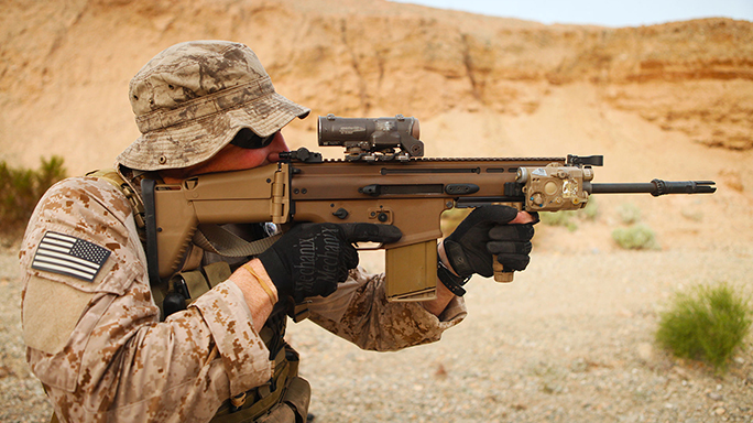 Mk17 SCAR Heavy U.S. Army Interim Combat Service Rifle