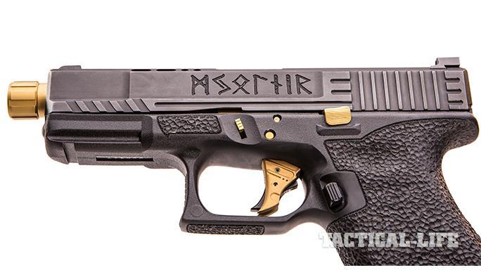 SSVi Mjölnir Glock 19 pistol engraving