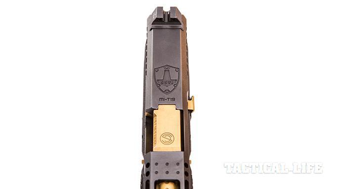 SSVi Mjölnir Glock 19 pistol front sight