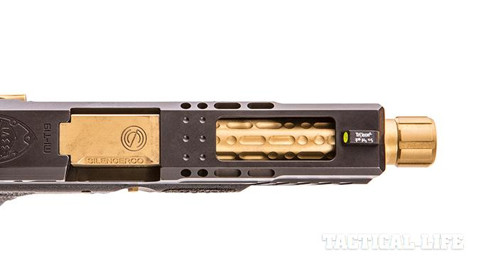 SSVi Mjölnir Glock 19 pistol slide profile