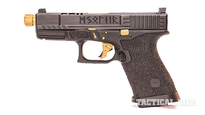 SSVi Mjölnir Glock 19 pistol left profile