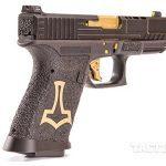 SSVi Mjölnir Glock 19 pistol rear angle
