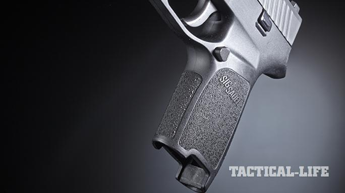 Sig Sauer P320 pistol grips
