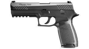 Sig Sauer P320 pistol left profile
