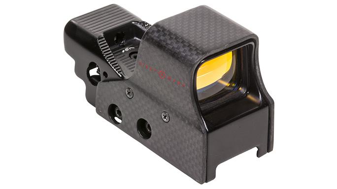 sightmark Ultra Shot M-Spec FMS Carbon Fiber Reflex Sight right angle