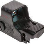 sightmark Ultra Shot M-Spec FMS Carbon Fiber Reflex Sight rear left angle