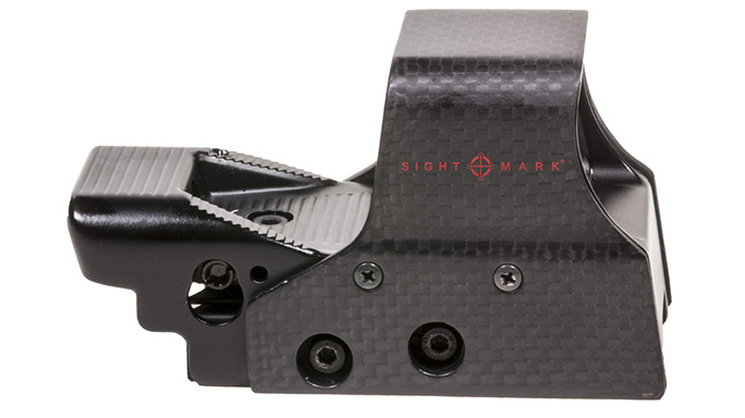 sightmark Ultra Shot M-Spec FMS Carbon Fiber Reflex Sight right profile