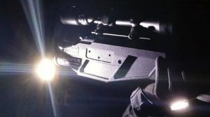 Tactical Lites gloves rifle