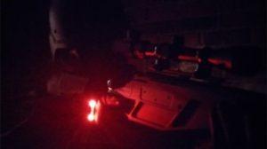 Tactical Lites gloves red light