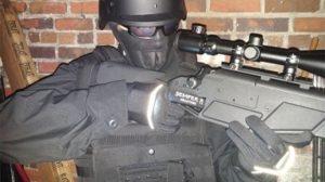 Tactical Lites gloves rifle aim