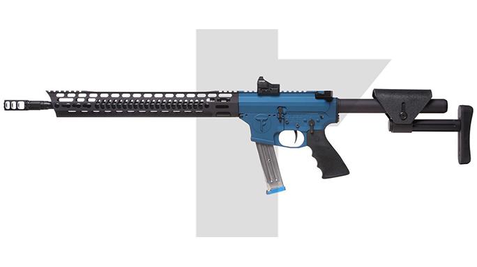 Trojan Firearms PRO9V1 carbine left profile